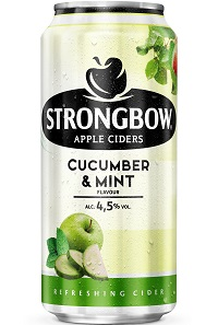 Strongbow Cucumber Mint 44cl can wet4 2